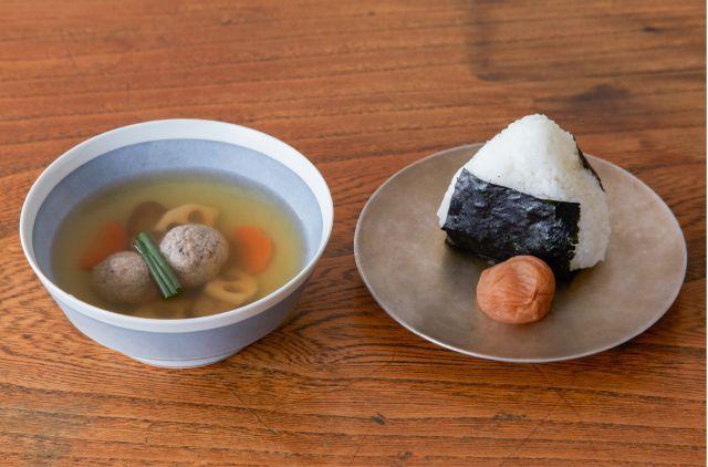 さんま出汁のつみれスープ イメージ