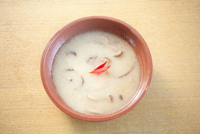 和だしできのこクリームスープ