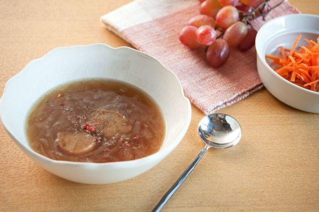 しょうゆ屋の和風オニオンスープ