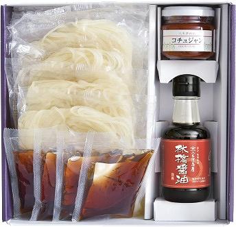 冷麺セット 林檎付