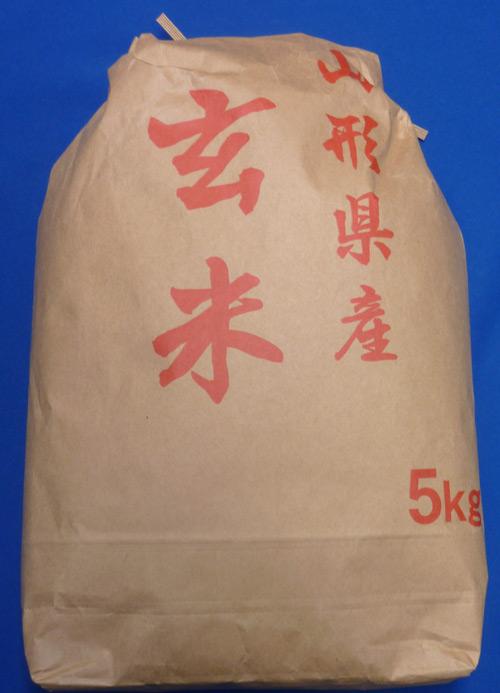 【送料無料】1年産山形県産はえぬき玄米5kg【沖縄別途1000円加算】