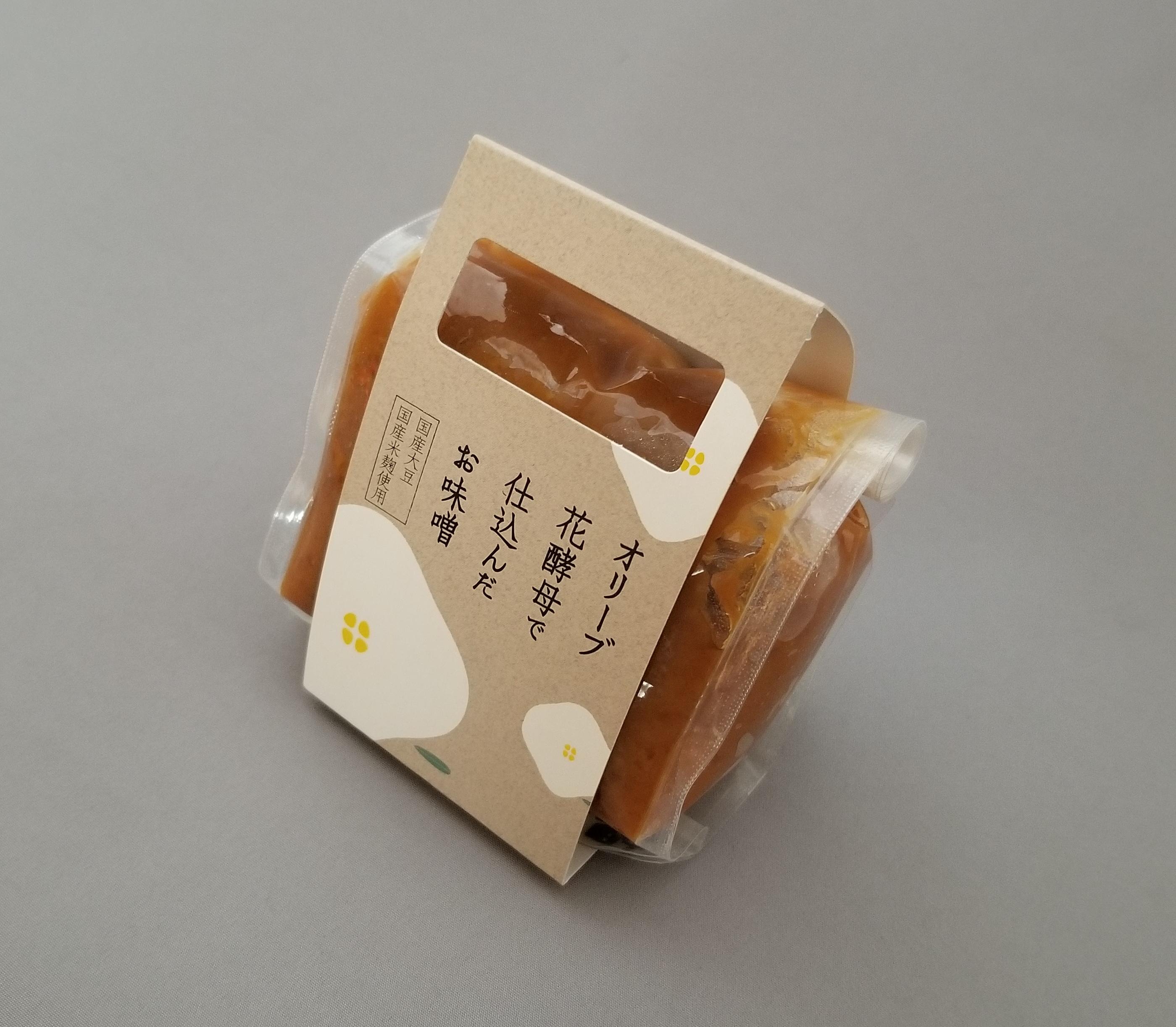 オリーブ花酵母で仕込んだお味噌(白) 300g