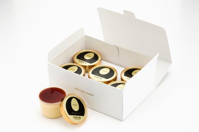 おみたまプリン(カラメルジュレ入り) 5個入 白箱 【お年始・贈答用】賞味期限製造より15日