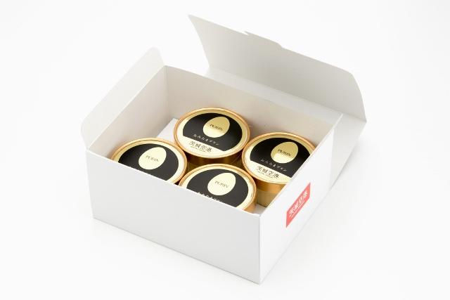 おみたまプリン(カラメルジュレ入り) 4個入 お取り寄せ用白箱 【賞味期限製造より15日】