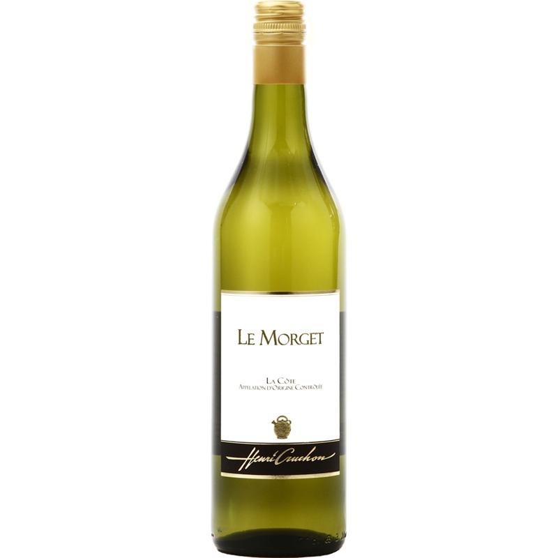 【スイス屈指の自然派ワイナリー「ドメーヌ・アンリ・クルション」が造りました】スイス白ワイン, Le Morget ル・モルジェ, La Cote AOC, 2016,700ml