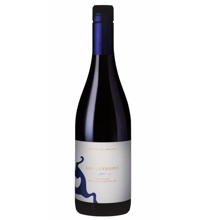 【スイス・ヌシャテル州新進気鋭の生産者、赤ワイン・ピノノワール100%】Les Landions レ・ランディオン, 2017, 750ml