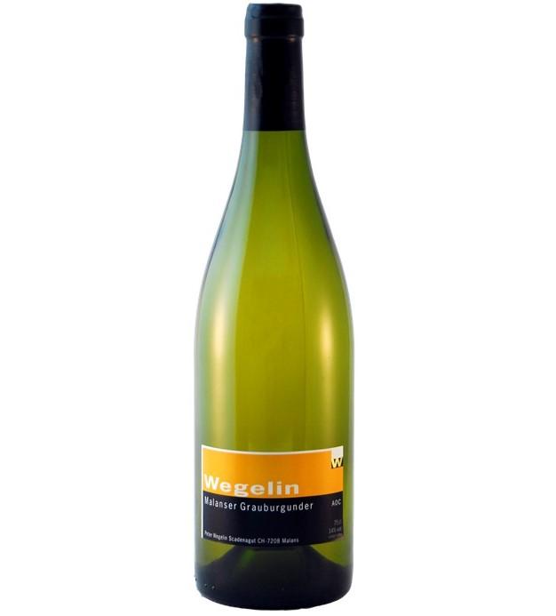【超希少!!スイスドイツ語圏のワイン】ピノ・グリ100%白ワイン, Malanser Grauburguner  マランセ・グラウビュルグンダー、グラウビュンデンAOC, 2017, 750ml