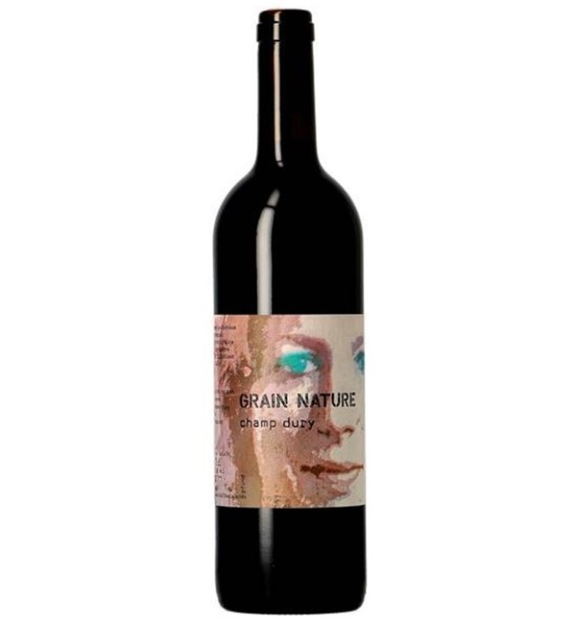 【So2無添加マリー・テレーズ・シャパ】スイス赤ワイン, Grain Nature グラン・ナチュール, 2018, 750ml