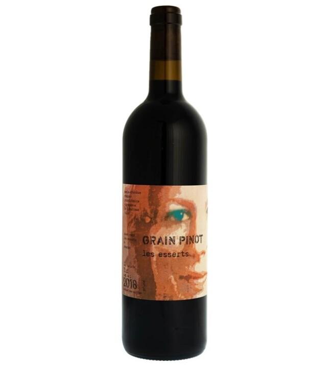 【マリー・テレーズ・シャパのピノノワール】スイス赤ワイン, Grain Pinot Les Esserts グラン・ピノ・レ・ゼセール, Valais AOC, 2018, 750ml