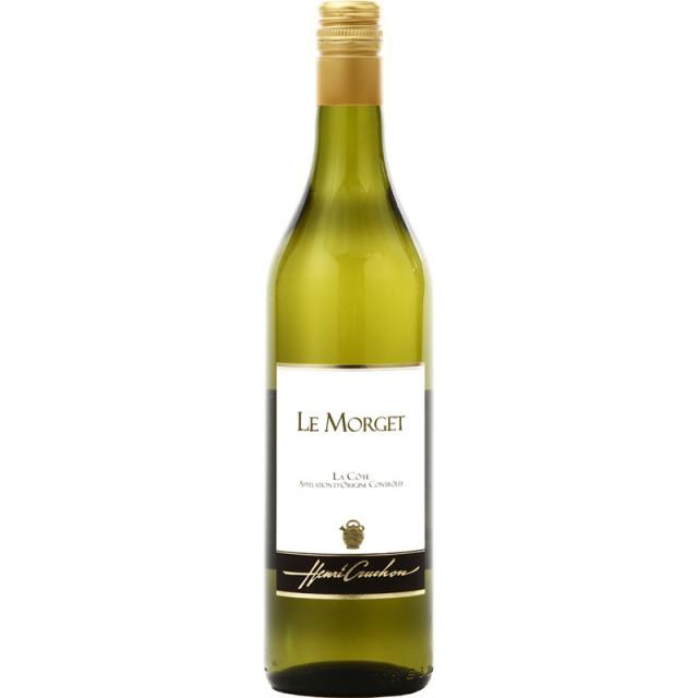 【スイス屈指の自然派ワイナリー「ドメーヌ・アンリ・クルション」が造りました】スイス白ワイン, Le Morget ル・モルジェ, La Cote AOC, 2018,700ml