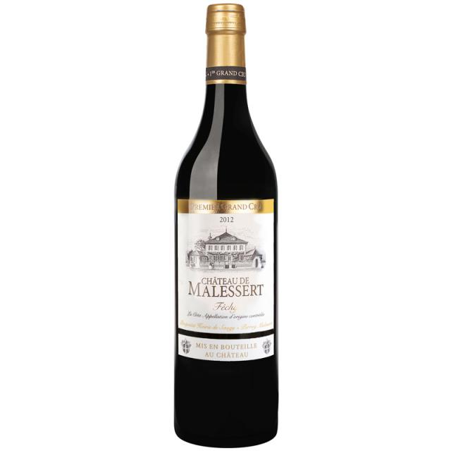 【スイス・ヴォ―州最優良格付けシャスラ種100%白ワイン】シャトー・ド・マルセール Chateau de Malessert 1er Grand Cru, Fechy La Cote AOC, 2015