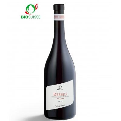 【スイス・ヴァレー州ブレンド赤ワイン】REBBIO レブビオ, 2017, BIO SUISSE ビオ・スイス認定品, 750ml