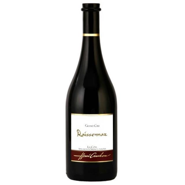 【スイス屈指の自然派ワイナリー「ドメーヌ・アンリ・クルション」が造りました】ドメーヌ至宝のピノノアール100%赤ワイン, Raissennaz レスナ Grand Cru, La Cote AOC, 2014