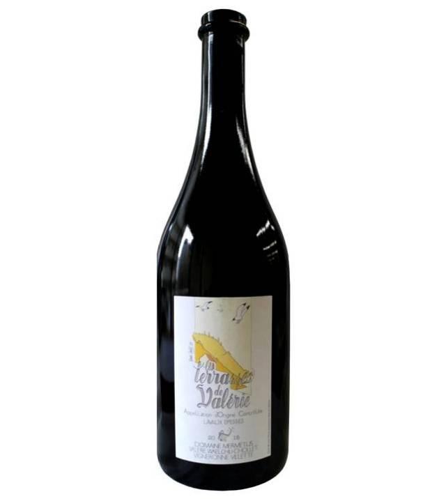 【世界遺産「ラヴォーのブドウ段々畑」のワイン】シャスラ100%白ワイン, Terrasses de Valerie  テラス・ド・ヴァレリー、 Lavaux AOC Epesses エペス, 2015, 750ml
