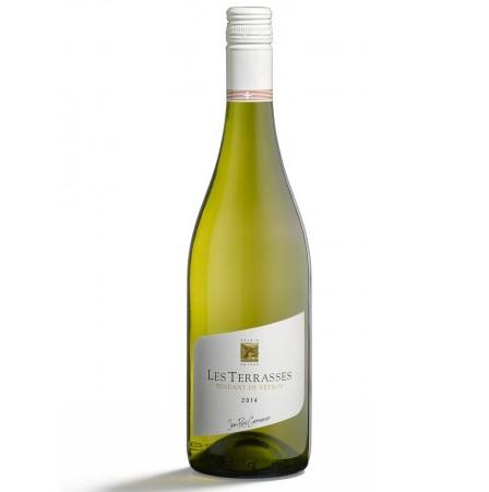 【スイス・ヴァレー州のシャスラ白ワイン】Fendant Vetroz Les Terrasses ファンダン・ヴェトロ・レ・テラス, AOC Valais, 2017, 750ml