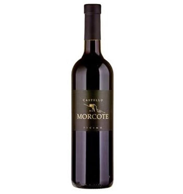 【スイス・ティッチーノ州名産・メルロー赤ワイン】Castello di Morcote, カステロ・ディ・モルコーテ, Ticino DOC, 2017, 750ml