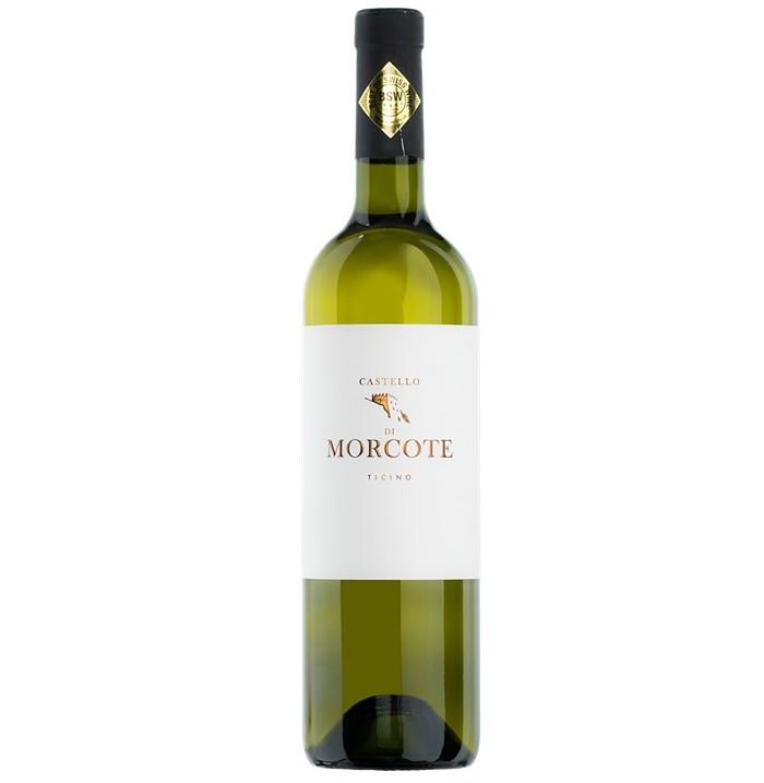 【スイス・ティッチーノ州名産・白メルロー】Castello di Morcote bianco, カステロ・ディ・モルコーテ・ビアンコ, Ticino DOC, 2018, 750ml