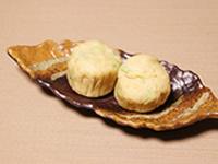 おかず蒸しパンにさんごヤマブシタケパウダー