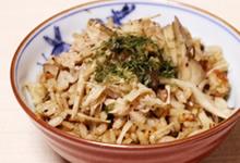 きのこづくしご飯(さんごヤマブシタケパウダー入り)