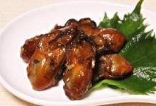 牡蠣のオイスター炒めにさんごヤマブシタケパウダー