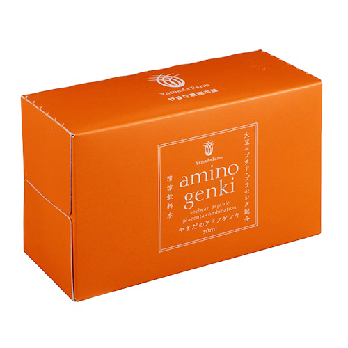 やまだのアミノゲンキ|30ml×10本|アミノ酸 大豆ペプチド プラセンタ サルコペニア配合。毎日の美と健康を徹底サポートする嬉しい成分を配合!