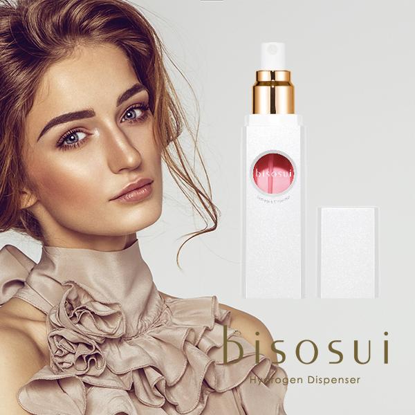 ≪送料無料≫bisosui 高濃度水素ディスペンサー 水素美容液 [1年保証] リペアエッセンス1本付属