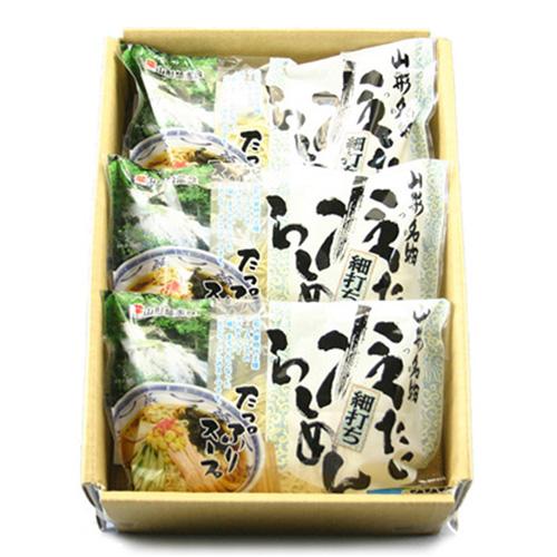 冷たいラーメン(生めん)3袋