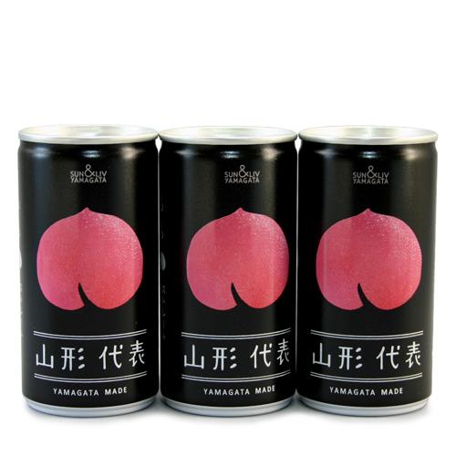 山形代表桃ジュース