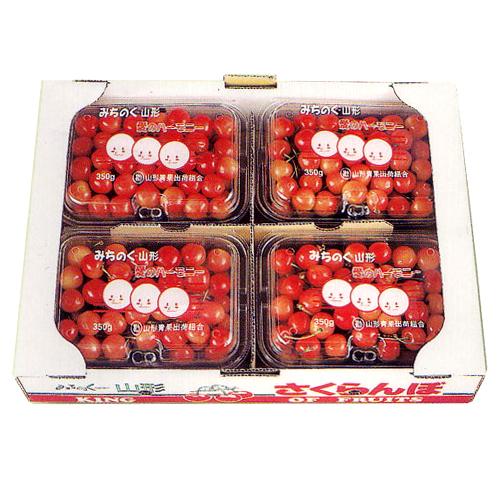 さくらんぼ 佐藤錦 お徳用 1.4kg詰(L・M)350g×4パック