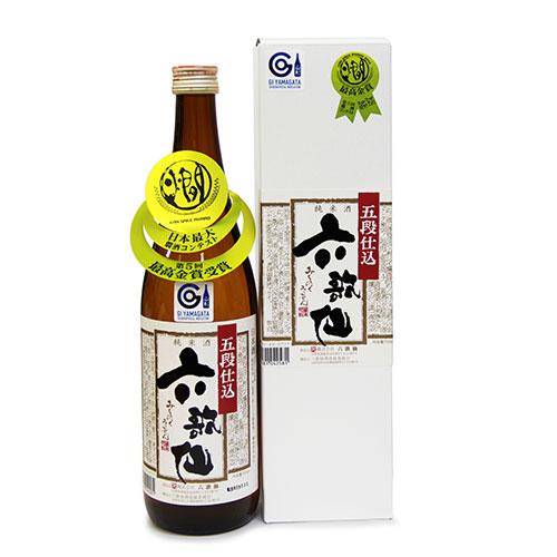 六歌仙 純米酒五段仕込