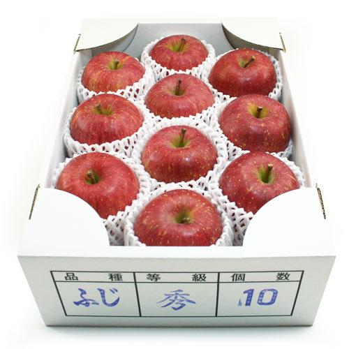ふじりんご(朝日町産蜜入り)10個入