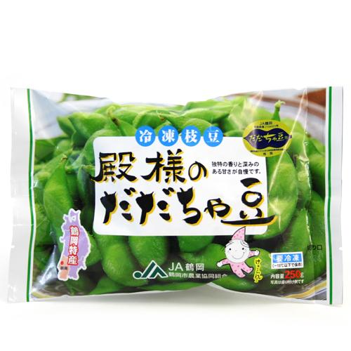 だだちゃ豆(冷凍)250g 要冷凍
