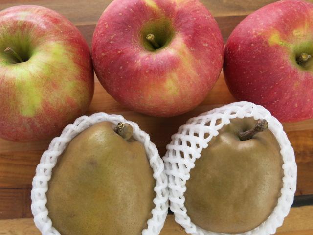 ゴールドラ・フランスとりんご