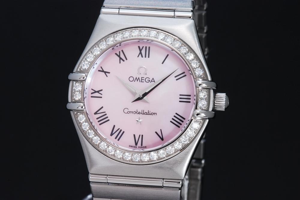 オメガ 1476.83 コンステレーション ダイヤベゼル シェル