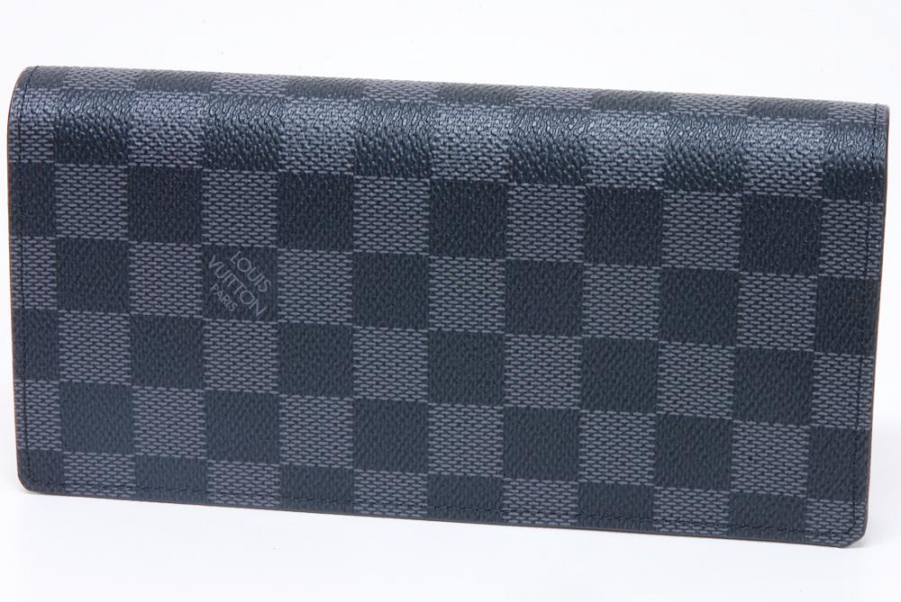 ヴィトン ダミエ グラフィット ブラザ ファスナー付長財布 N62665【新品】