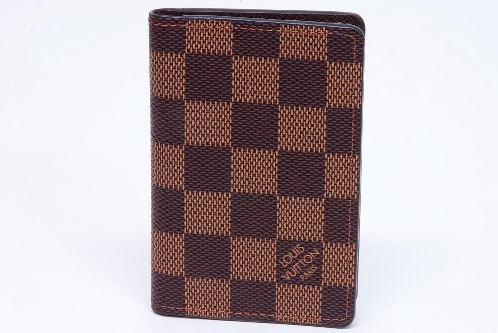 ヴィトン ダミエ ポケット オーガナイザー カードケース N63145【新品】