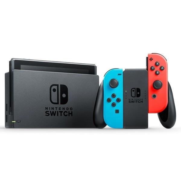 任天堂 ニンテンドースイッチ Nintendo Switch 本体 Joy-Con ネオンブルー/ネオンレッド HAC-S-KABAA【新品】