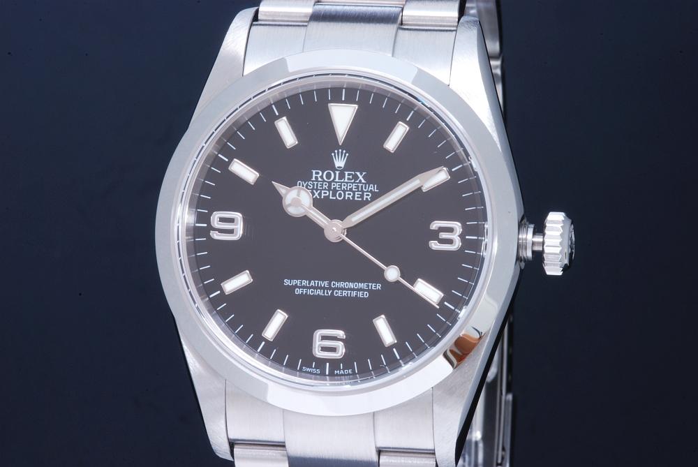 ロレックス ROLEX 114270 オイスターパーペチュアル エクスプローラー1 D番 EX1 メンズ SS オートマ
