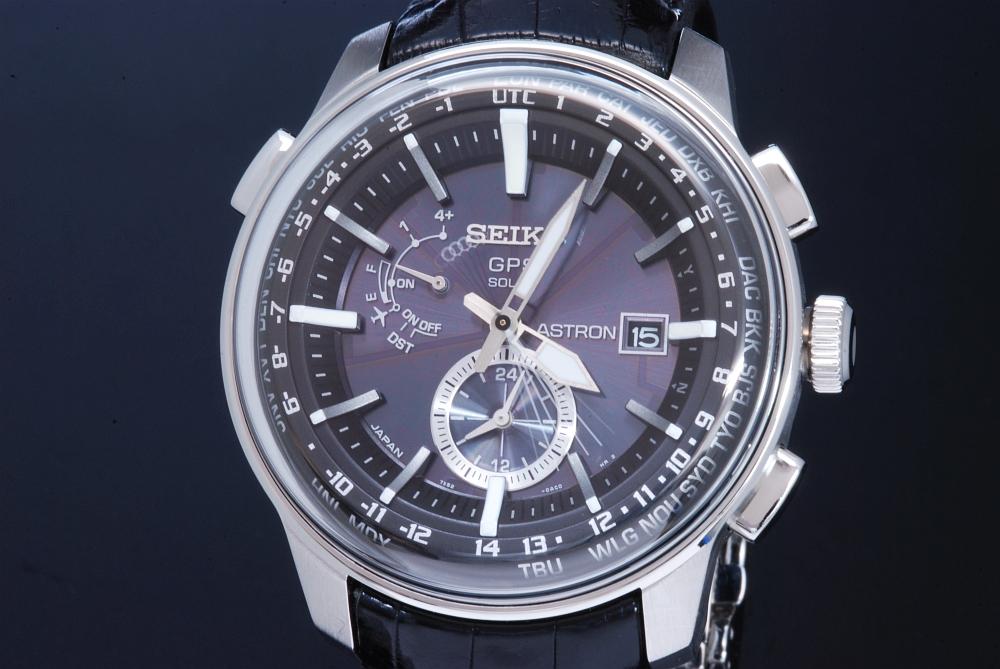 セイコー アストロン コンセプチュアルデザイン GPSソーラー電波時計 メンズ  SBXA037 7X52