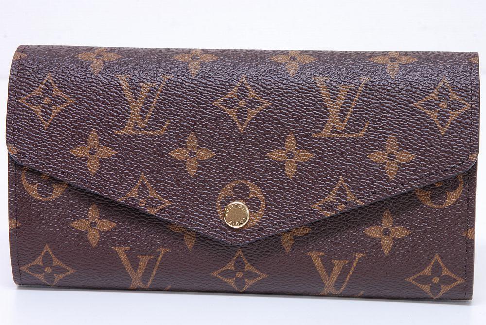 ヴィトン モノグラム ポルトフォイユ サラ 二つ折長財布 フューシャ M62234【新品】