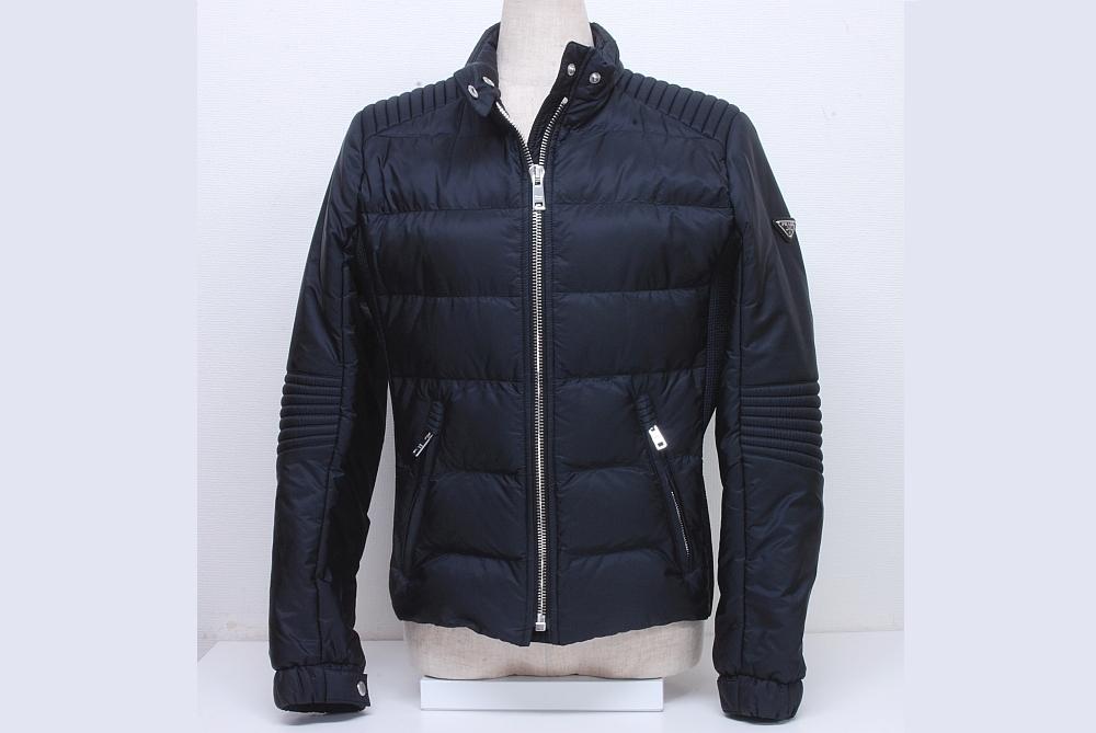 プラダ PRADA ダウンジャケット ブルゾン レディース #42 NERO ブラック【正規品】