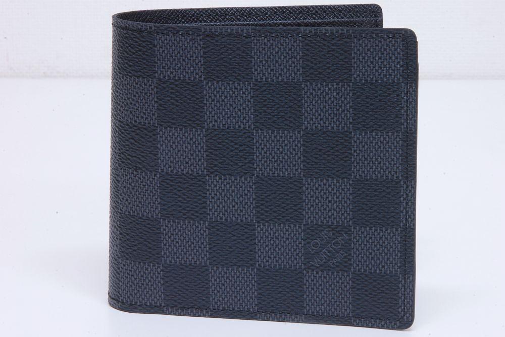ヴィトン ダミエ グラフィット ポルトフォイユ マルコ 二つ折り財布 N62664【未使用】