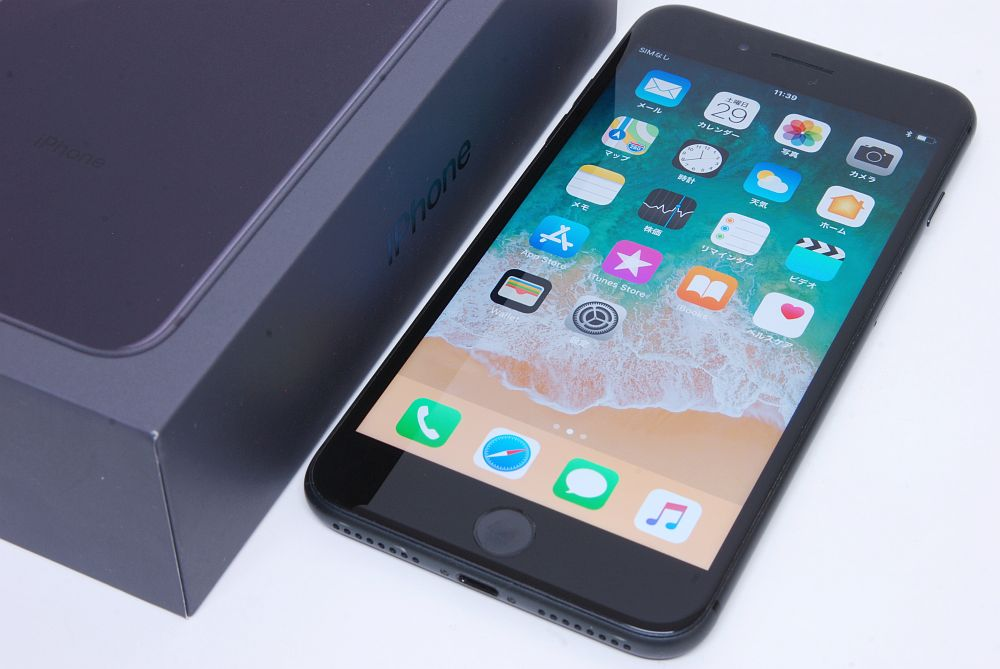 アップル ドコモ iPhone8 Plus 256GB スペースグレイ MQ9N2J/A 〇判定