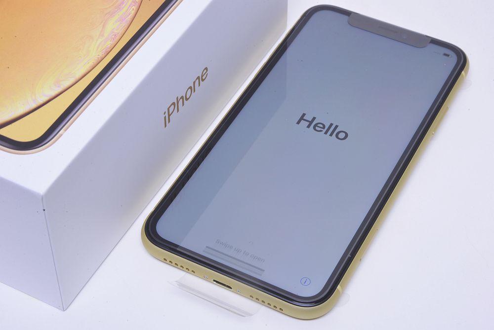 アップル iPhone XR 256GB イエロー MT1M2ZA/A A2108 香港版SIMフリー【新品】