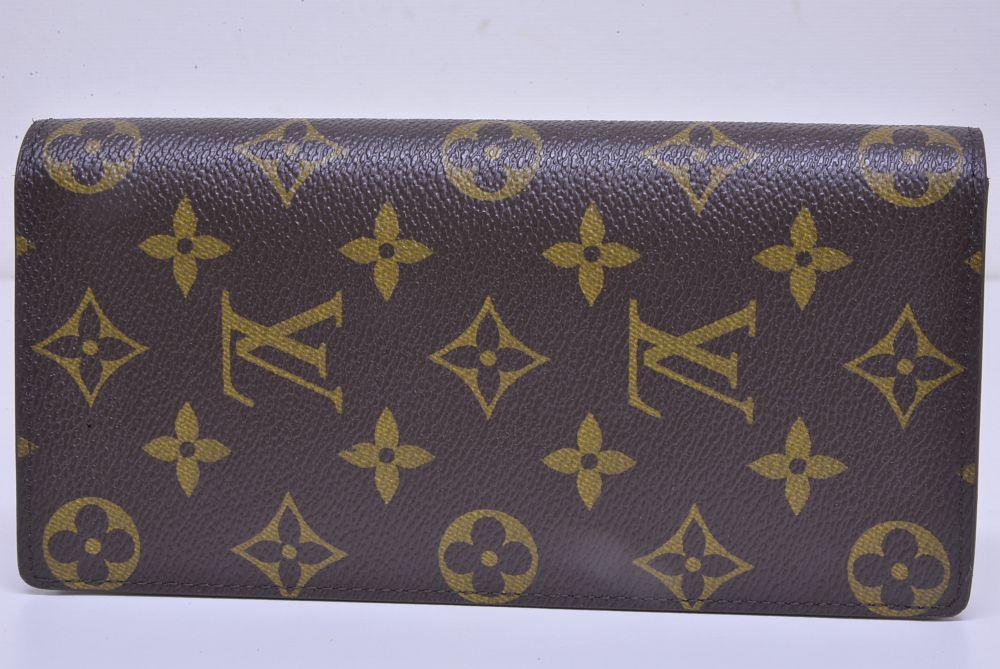 ヴィトン モノグラム ポルトフォイユ ブラザ 二つ折り長財布 M66540【未使用】
