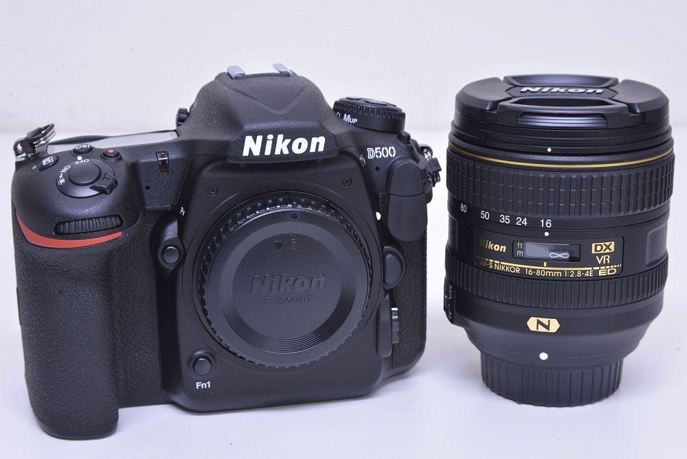 ニコン D500 16-80 VR レンズキット デジタル一眼レフカメラ【未使用】