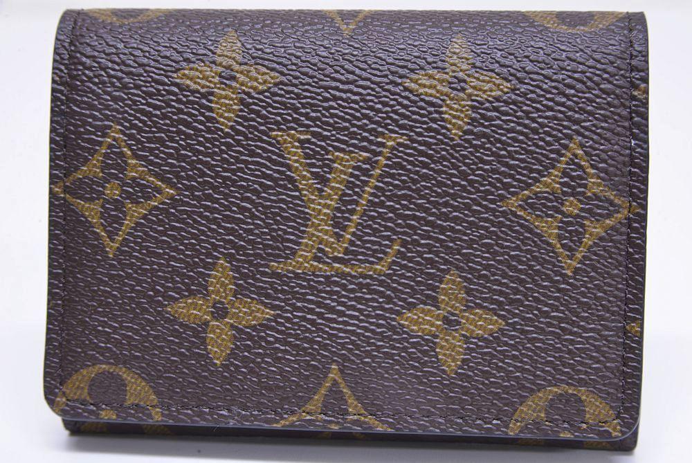 ヴィトン モノグラム アンヴェロップ カルト ドゥ ヴィジット カードケース 名刺入れ M63801【新品】