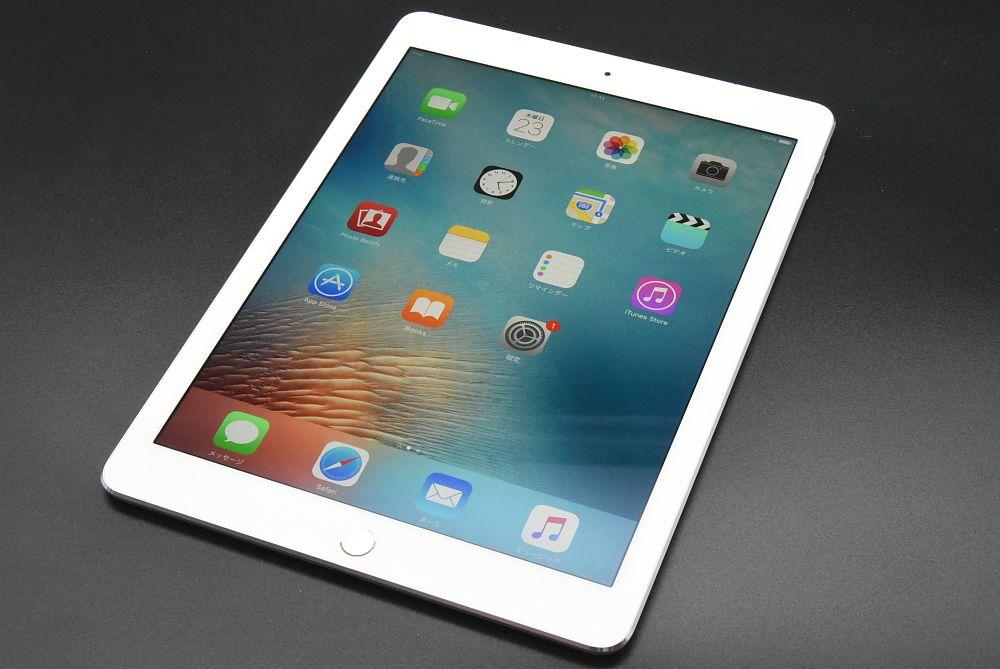 アップル ドコモ iPad Pro 9.7インチ Wifi+Cellular 32GB シルバー MLPX2J/A 〇判定