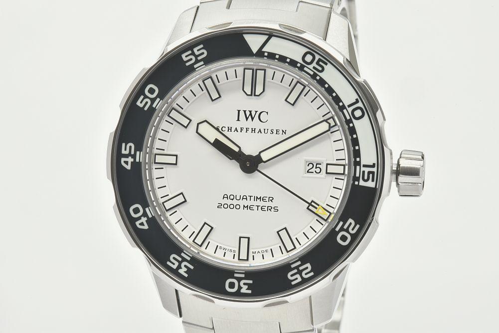 IWC  シャフハウゼン IW356809 アクアタイマー オートマティック 2000 メンズ SS ダイバー 白文字盤【正規品】