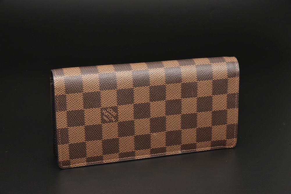 ヴィトン ダミエ ポルトフォイユ ブラザ 二つ折り長財布 N60017【未使用】